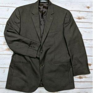 Michael Kors Brown Suit Jacket Size 42R